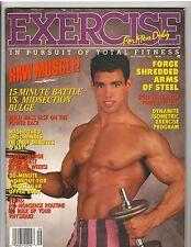Exercise For Men Only Bodybuilding Muscle Physique Magazine 9-93