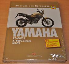 Yamaha XT 660 X/R XT 660 Z Ténéré MT-03 Motor Räder Getriebe Reparaturanleitung