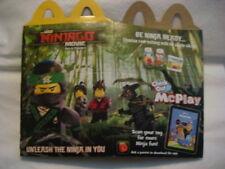 Mcdonalds 2017 Lego Ninjago Movie Happy Meal Box