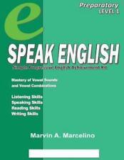 Speak English : Simple Progressive English Achievement Kit by Marvin A....
