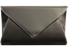 Large Patent Evening Clutch Handbag Party Prom Wedding Bags Purse Colors 5090