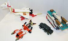 Transformers lot  1984,1992- up Thunderclash, bone crusher,  parts, Lynx