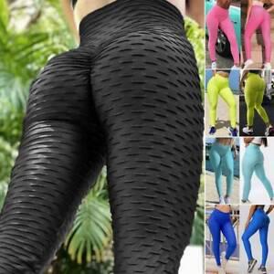 Yoga Leggings Femme Pantalon Sport Fitness Course Sexy Push Up Anti-Cellulite