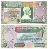 UNC LIBYA 10 Dinars Series 5 (2002) P-66