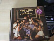 Tom Jones - Live at Caesars Palace Las Vegas Double LP