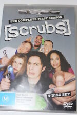 DVD SCRUBS SEASON 1 4 DISC SET MOVIE SERIES TV TELEVISION HOME THEATER WATCH DIY