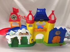 New Fisher Price Little People Magic Kingdom Day At Disney Mickey Castle Playset