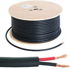 100M Speaker Cable Reel/Drum -100V Volt Line 2.01mm²- Double Insulated PA System