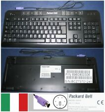 QWERTY KEYBOARD ITALIAN PACKARD BELL 6301N, 6960800306 socket PS / 2