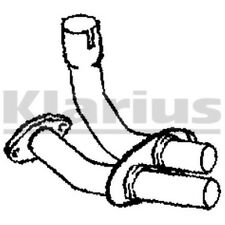 1x KLARIUS OE Quality Replacement Exhaust Pipe Exhaust For JAGUAR Petrol