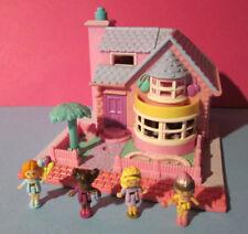 Polly Pocket Mini ♥ Bay Window House ♥ Pollyville 100% Komplett ♥ 1993 ♥ LICHT