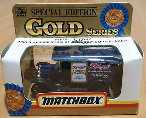 """Matchbox Gold Series 44 """"Kellogg's Corn Flakes"""" Special Edition"""