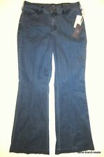NYDJ NWT $124 Claire Trouser Jeans Womens 8P Wide Leg Lift Tuck Tummy Panel NEW