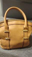 "Luxury Small Bucket Messenger Handbag Purse Gold Tone Hardware 9""W x 8""H     367"