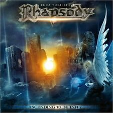 LUCA TURILLI'S RHAPSODY-ASCENDING TO INFINITY CD