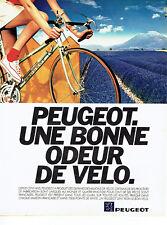 Publicité Advertising 038  1981   le vélo Peugeot