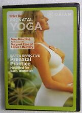 Brand New GIFT Ready Prenatal Yoga Shiva Rea Support EASE of Labor and Delivery