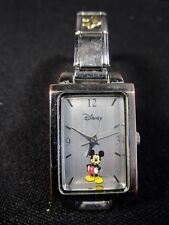 Disney  MICKEY MOUSE  Children's Watch  -  Marked Disney on Reverse and Band