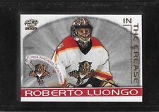 2004-05 PACIFIC IN THE CREASE # 9 GOALIE ROBERTO LUONGO !!