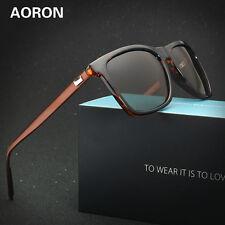 Retro Aluminum Polarized Sunglasses Men's Eyewear Outdoor Driving Glasses Goggle