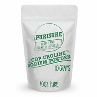 CDP Choline Sodium Powder (Citicoline)   Promotes Cognitive Efficiency 10 g