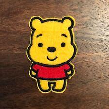 New Cute Kawaii WINNIE THE POOH Cartoon Embroidered Iron On Patch