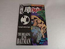 Batman-497-1993-DC-NM-NM-034-The-Breaking-of-the-Batman-034-Bane-Knightfall  Ba