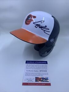 Adley Rutschman Signed Baltimore Orioles Mini Helmet PSA/DNA #1 Overall Pick