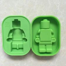 100% FoodGrade Molde De Silicona Super Grandes robot Molde de torta hielo Molde Hornear Pan Hazlo tú mismo