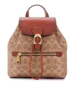 Coach Ladies Signature Canvas Evie Backpack 22 69523 B4NQ4