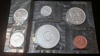 1964 Canada Mint Set- Proof Like- Uncirculated Coin Set- w/Env. 80% Silver