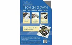 NEW Frisk Tracedown Paper - A4 - Graphite Grey - Pack of 5 sheets