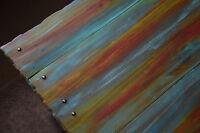Bespoke Multi Coloured Old Boat Wood Style Reclaimed Wood Coastal Coffee Table