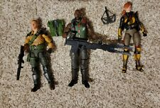 G.I. Joe Classified Redeco Lot of 3 Duke, Scarlett and Roadblock Variants