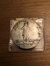 1761 Malta 30 taki silver coin rare, previously mounted