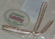 Longaberger 2004 Gumdrop Tree Trimming Christmas Basket Tie-on Retired