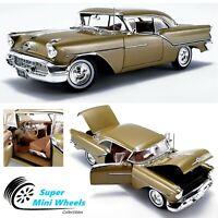 ACME 1:18 - 1957 Oldsmobile Super 88 (Gold Mist) Diecast Model