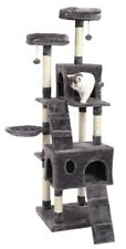Pet Cat Tree House Condo Scratching Post Tower Furniture Play Climbing Kitten