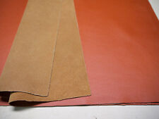 "Large leather panels 18"" x 24"" Orange for ( 3 ) pieces"