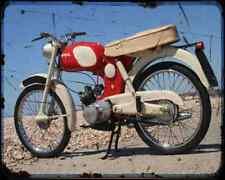 Bsa Beagle 01 A4 Metal Sign Motorbike Vintage Aged