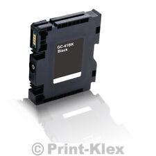 compatible Cartucho de Gel para Ricoh Aficio SG 3100SNW 3110 DNW N gc-41bk Negro