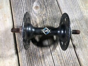 OLD SCHOOL BMX MX SUZUE FRONT HUB 36 HOLES 36H 4J BLACK NOS JAPAN OLDSCHOOL BMX