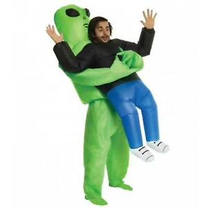 Adult Inflatable Dress Halloween Fancy inflatable costume Night Party Alien