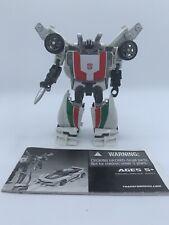 Hasbro Transformers Generations 2010 Autobot Wheeljack Deluxe Class complete