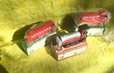 Lot of 3 Texaco Fuel ERTL Die Cast Banks