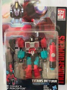 Transformers Titans Return Preceptor and Convex Mint in Box