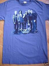 Aerosmith T-Shirt Blue L NEW 415