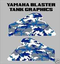 Yamaha Blaster Camo Gas Tank Graphics decals sticker gastank plastics camouflage