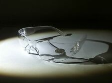 [BIFOCAL+2.0] 12 PAIRS ANSI Z87 + 2003 HIGH IMPACT APPROVED SAFETY GLASSES CLEAR