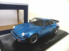 Porsche 911 930 Turbo Blue metallic Norev 1:18 FREE SHIPPING  WORLDWIDE